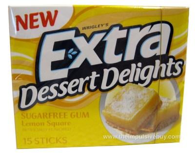 Extra Dessert Delights Lemon Square Gum,jpg