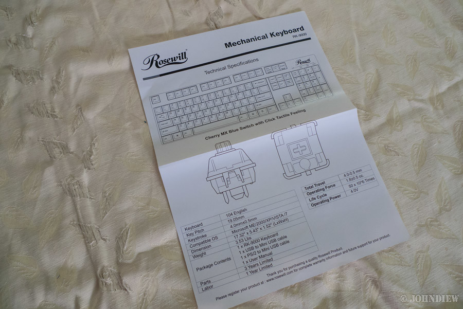 Rosewill RK-9000 - 06