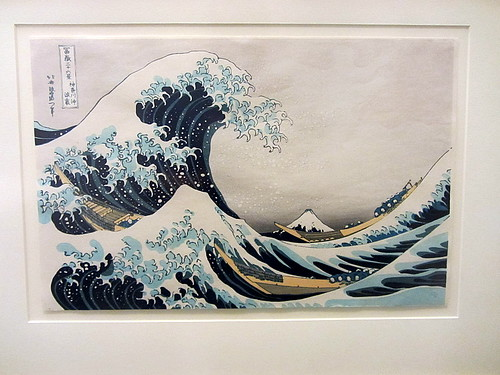 The Great Wave off Kanagawa by Ezra S F
