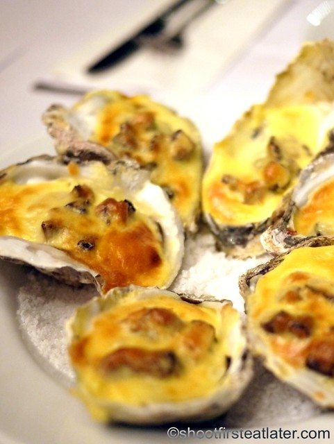 baked oysters P490 (6 pcs)