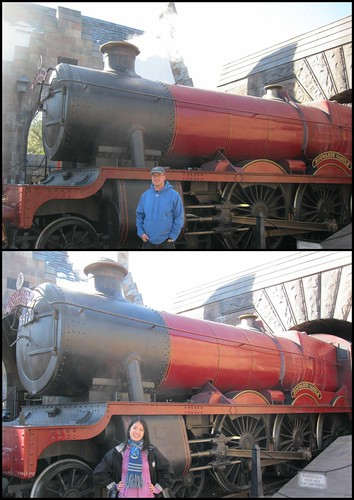 with the Hogwarts Express