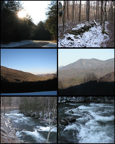 Smokey Mountains Collage 3