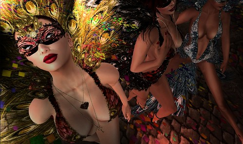 Duchess, Taz & London at Carnival by Duchess Flux