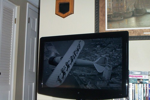Classic Movie for today: Flying Down to Rio (Yes, those are women on the airplane wings!)