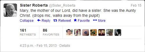 sister roberta