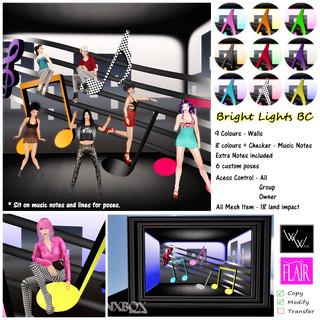 W Winx & Flair - WinxBox - Bright Lights BC - My Attic @ The Deck