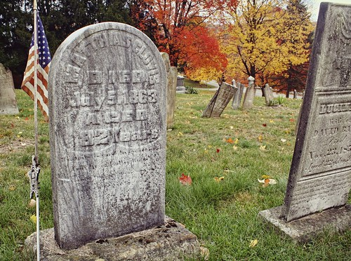 Churchyard in Mt Morris, PA in fall. Copyright Jen Baker/Liberty Images; all rights reserved.