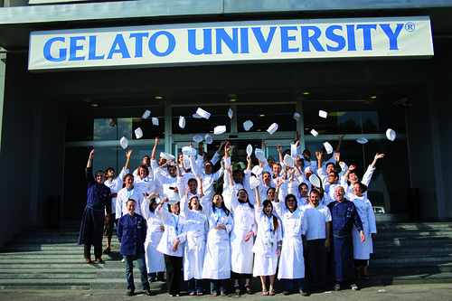 Carpigiani Gelato University graduation
