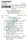 UPTU: B.Tech Question Papers -TFT-601 - Food Preservation & Processing Principles