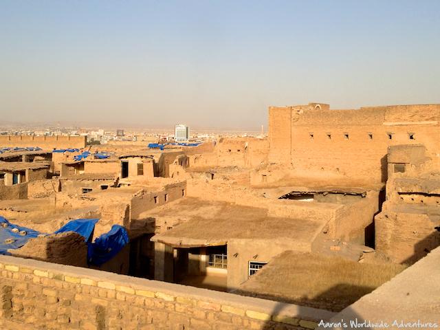 Overlooking Erbil Citadel