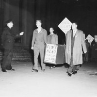 DC Police Raid 1948 Fundraiser by Progressive Party Supporters