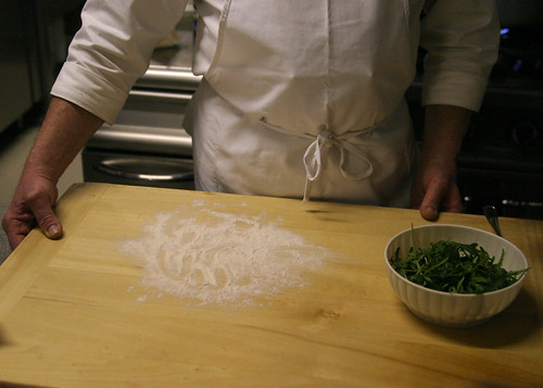 Arugula for Gnocchi