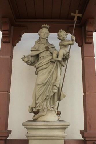 2013.03.09.344 - SCHWETZINGEN - Schloßstraße - Katholische Kirche St. Pankratius
