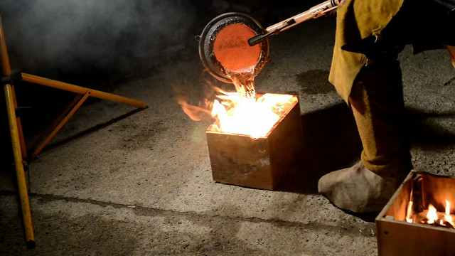 Milwaukee Makerspace Aluminum Pour