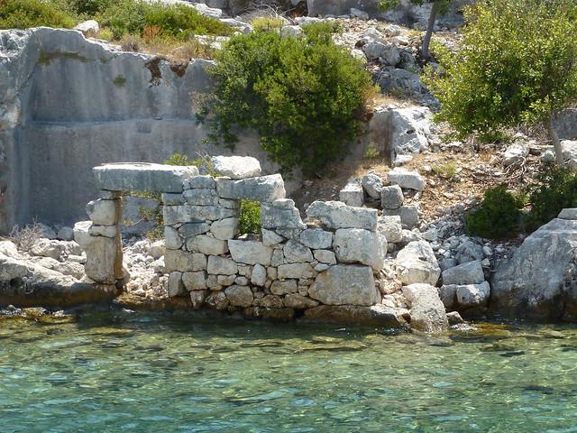 Turquie - jour 8 - Baie de Kekova - 96 - Apollonia