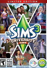 Sims 3 University Life Fact Sheet & Official Screens (3/6)