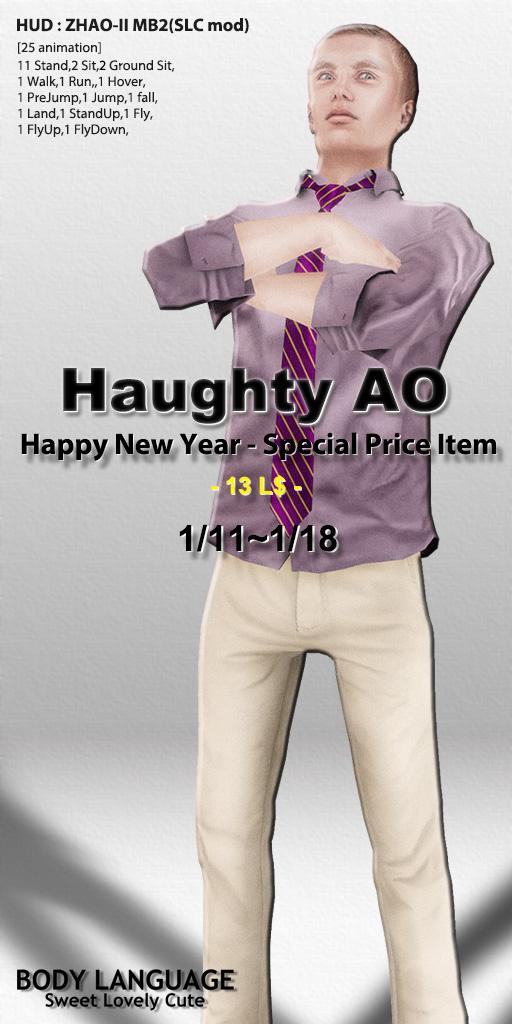 Haughty set