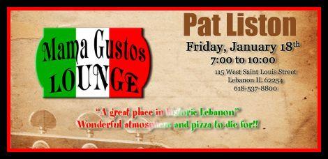 Pat Liston 1-18-13