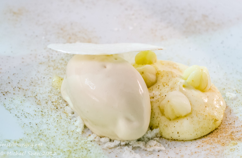 Marque - Chamomile w/white chocolate, yoghurt, lemon aspen & milk cookie