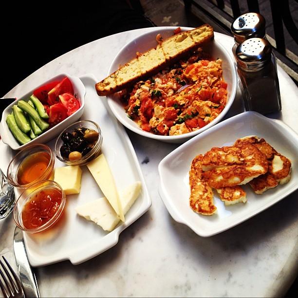 Breakfast in Istanbul