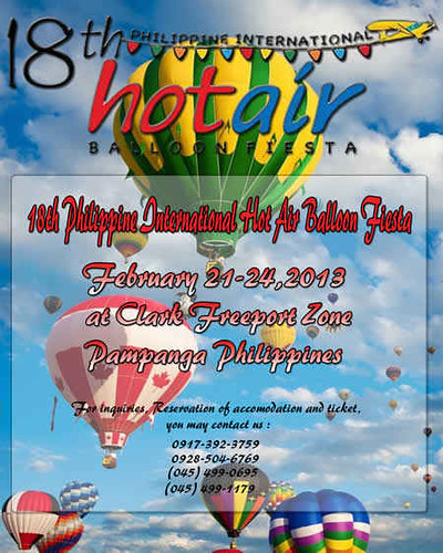 18th Philippine International Hot Air Balloon Fiesta