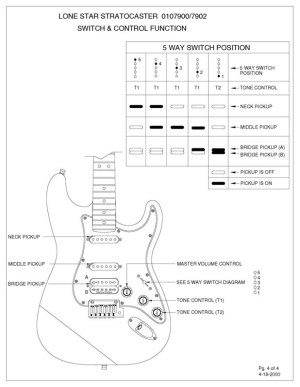 Well I never knew that  Fender Lonestar Stratocaster Content