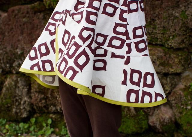 polynesian pinwheel tunic
