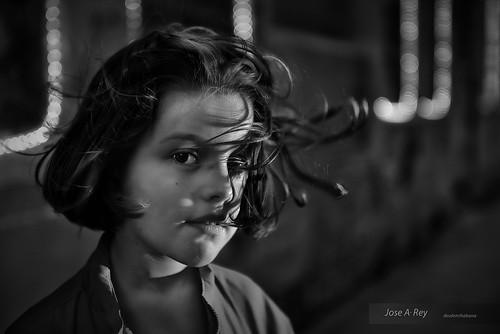 Claudia Strobist by Rey Cuba