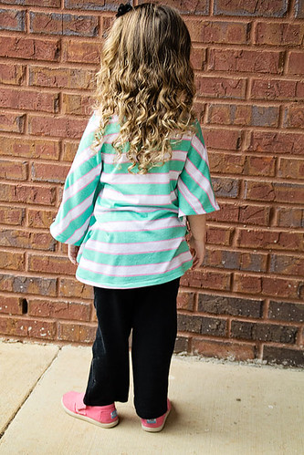 Striped Butterfly Tunic