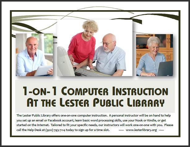 One on One Computer Instruction