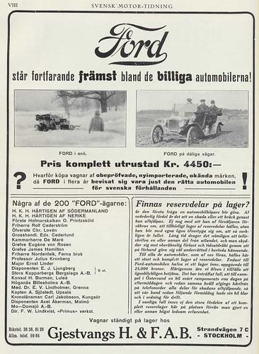fordreklam_1913 by Historiskt