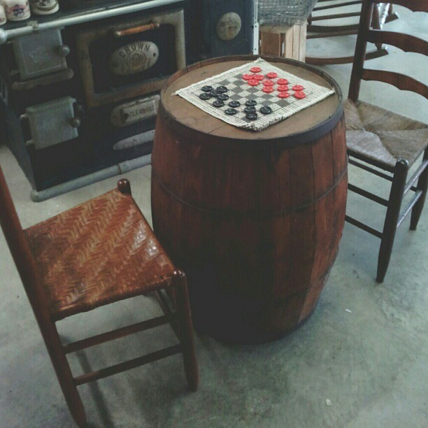 Anyone for a game of #checkers?