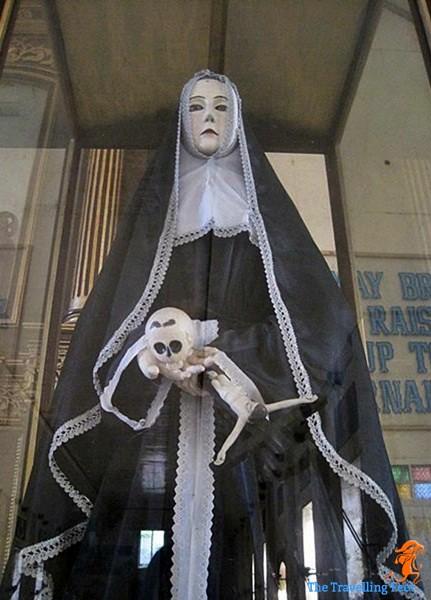 statue of Santa Rita Cascia in Maria