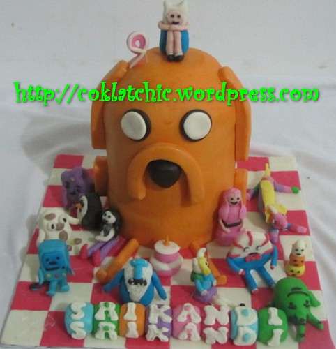 Cake Adventure Time
