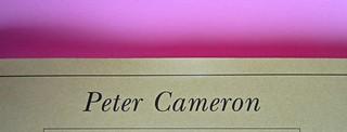 Peter Cameron, Il weekend. Adelphi edizioni 2013. [resp. grafiche non indicate]; alla cop.: Fairfield Porter: Sotto gli olmi, 1972 ©Pennsylvania Ac. of the fine arts. Copertina (part.), 5