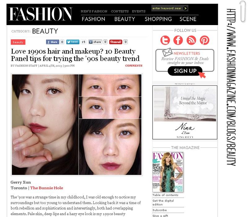 BeautyPanel Challenge _ 90s Makeup