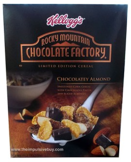 Kellogg's Limited Edition Rocky Mountain Chocolate Factory Chocolatey Almond Cereal