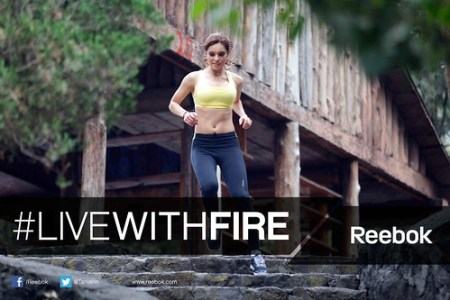 "Tania Rincon - Reebok ""Live with Fire"" #livewithfire"