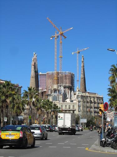 No la típica foto de la Sagrada Familia by debolsillo