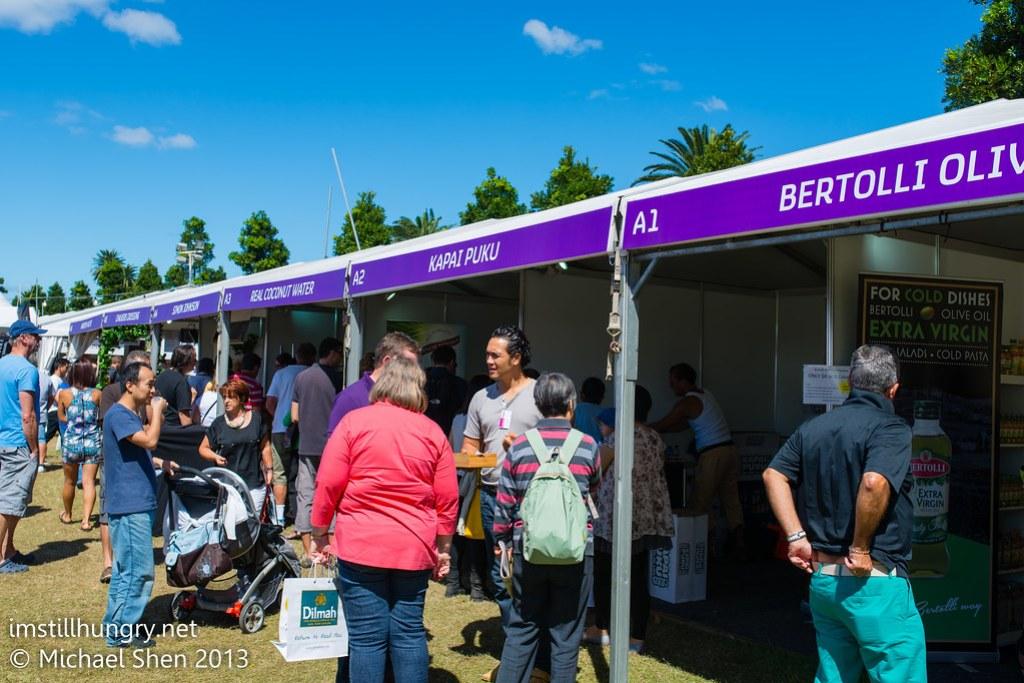 Taste of Sydney - stalls