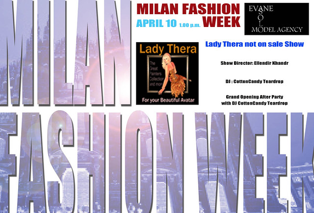 Milan Fashion Week by Solo Evane - LADY THERA NOT ON SALE SHOW