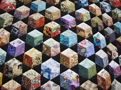 quilt photograph from Christchurch City Libraries Flickr
