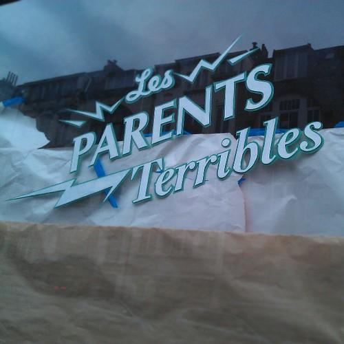 les parents terribles #vitrine #bruxelles #1060 #saintgilles #nofilter