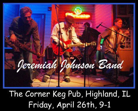 Jeremiah Johnson Band 4-26-13