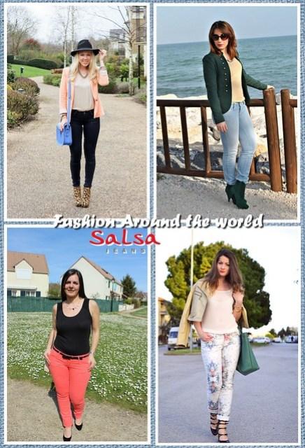 Collage - fashion around the world x salsa