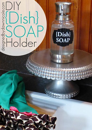 DIY Dish Soap Holder (Handmade Gifts)