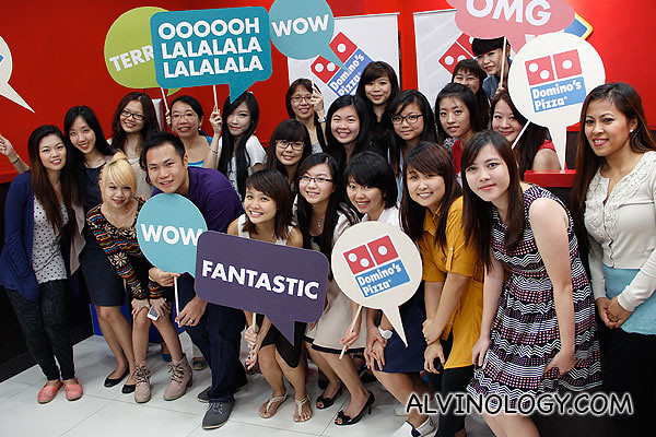 Superb turnout at the first Domino's Pizza bloggers' gathering for 2013