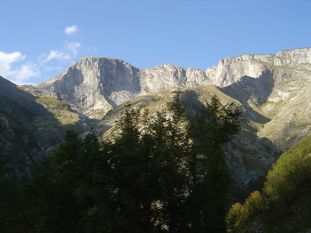 Apennines, mountains in Italy landscape