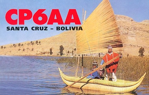 CP6AA - F11556 - QSL - Bolivia - Bolivie by Yannick BARBIER