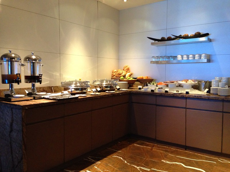 Buffet Counter at the Lounge